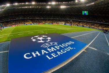 UEFA Champions League logo banner